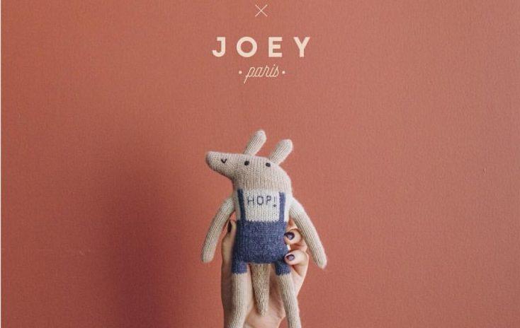 Le doudou tout doux Joey x Main Sauvage