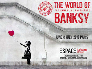 The World of Banksy : L'exposition immersive à l'espace Lafayette-Drouot