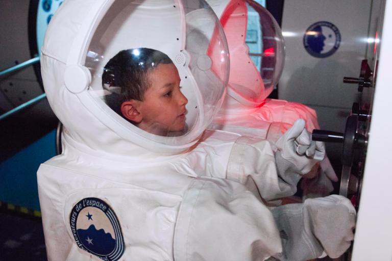 Rêver de devenir un jour astronaute