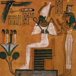 Isis et Osiris à travers les arts