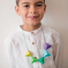 Collier Origami - Dès 5 ans