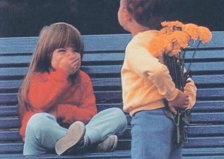 Être amoureux à 4 ans