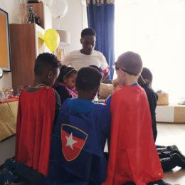 Entrainement de Super-héros