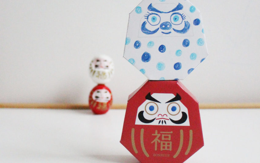 Fabriquez un « Daruma » en papier