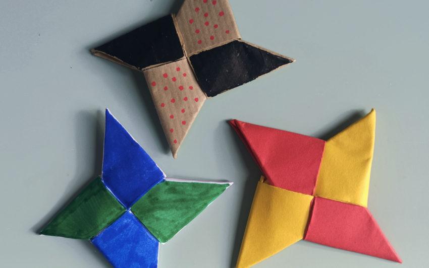 DIY Enfant : Les Étoiles de Ninja Origami