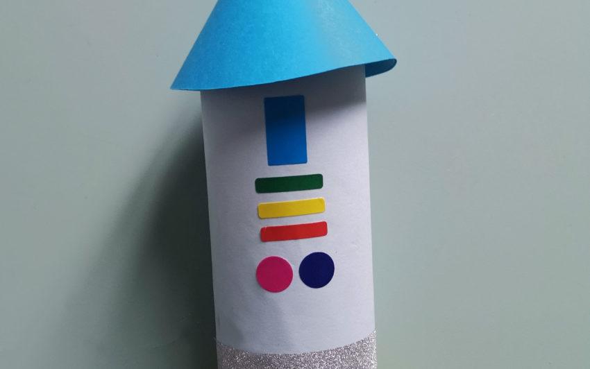 DIY Enfant : La fusée récup